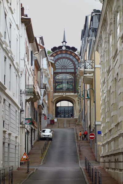 Evian les Bains, French spa town