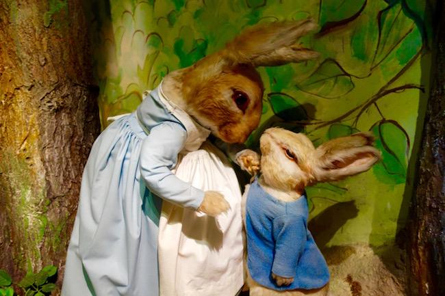 Beatrix Potter sights, Peter Rabbit