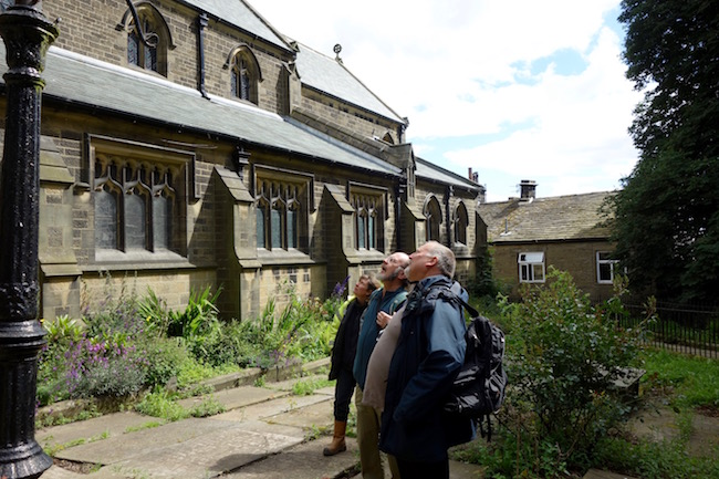 Bronte experts in Haworth Parish Church