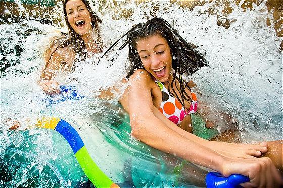 Girls weekend getaway Atlantis resort lazy river