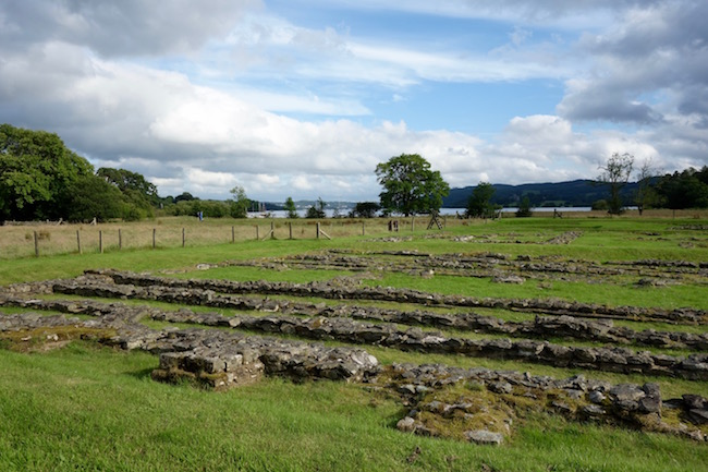 Lake District attractions Ambleside Roman Fort