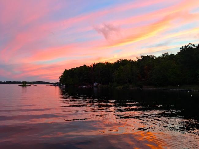 Viamede Resort Ontario getaway Stoney Lake