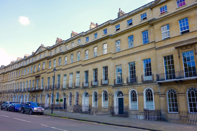 Where Jane Austen lived in Bath 4 Sydney Place