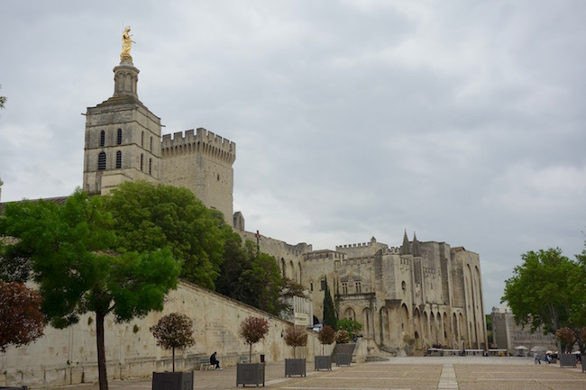 Visiting Avignon Cathedral in France