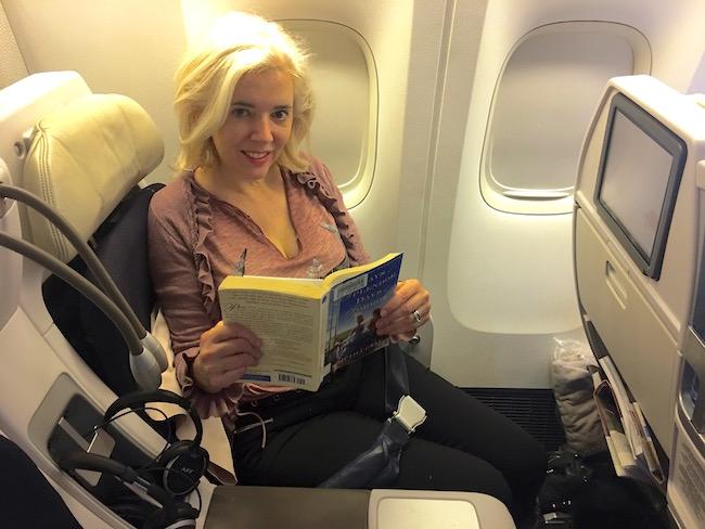 Air Wandering Carol Air France premium economy