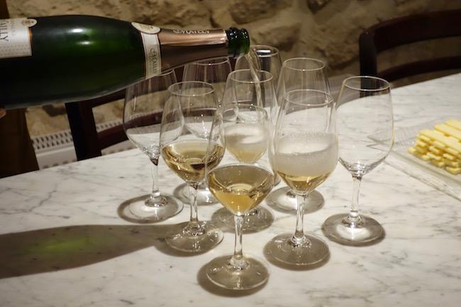 Wine tasting at De Vinis Illustribus
