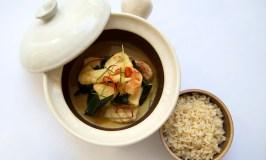Khmer food, Seafood amok