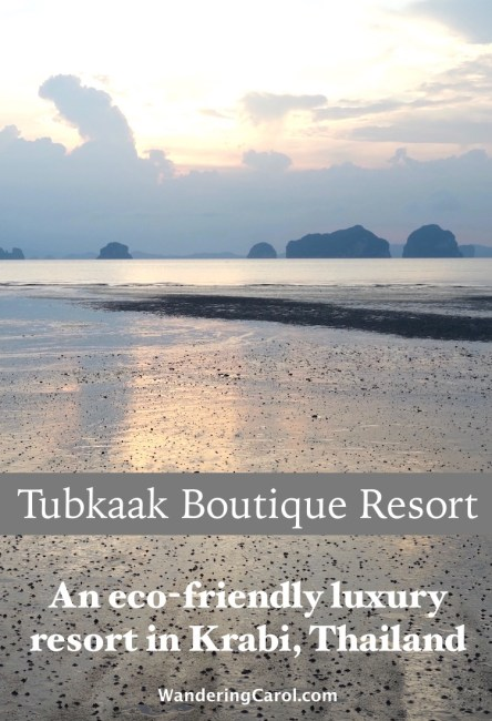If you're looking for an eco-friendly luxury resort in Krabi, Thailand, check out The Tubkaak Resort, a boutique hotel on beautiful Tubkaak Beach.