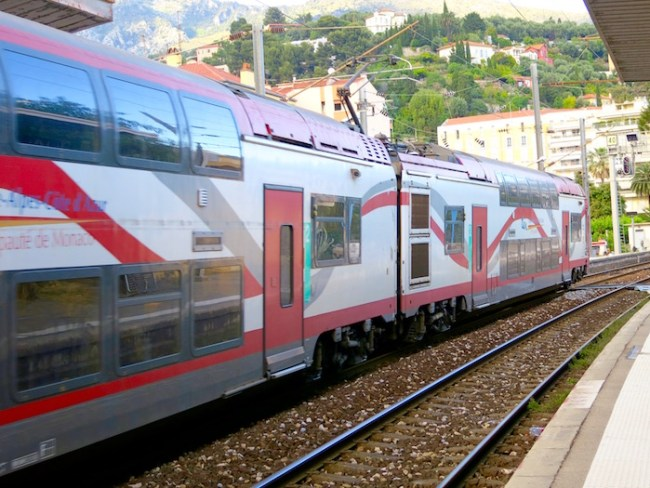 Nice by train