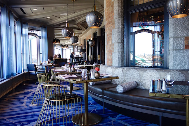 Where to eat in Quebec City, Bistro le Sam Chateau Frontenac