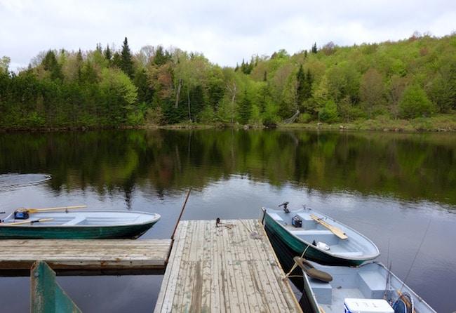 Fishing trip in Canada