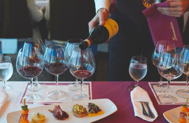 Luxury cruises, wine tasting on Oceania