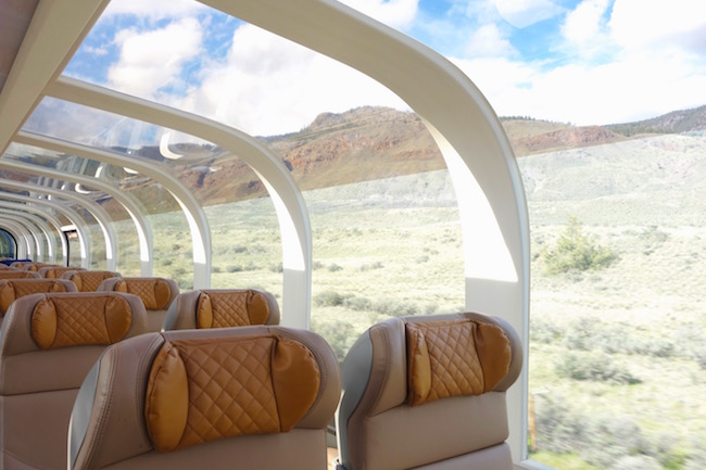 Rocky Mountaineer review GoldLeaf service