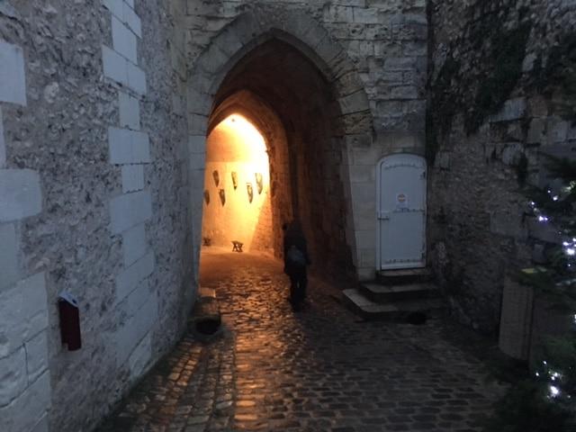 Chateau d'Amboise passageway