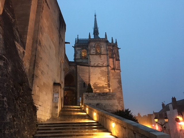 Visiting Chateau d'Amboise France