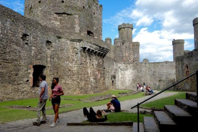 Visiting Castle Conwy