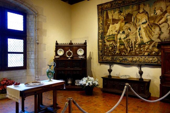 Visiting Chateau d'Amboise