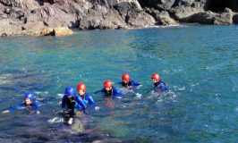 Coasteering with Snowdonia Watersports