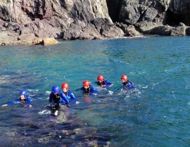 Coasteering with Snowdonia Watersports