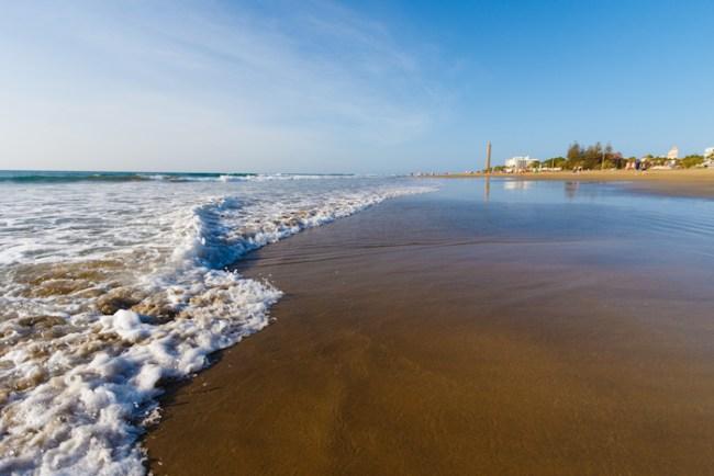 Beach photo, credit Tourist Board of Gran Canaria
