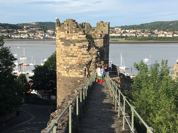 Things to do in Conwy, town wall walk