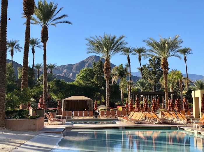 Palm Springs Resorts, Renaissance Indian Wells pools