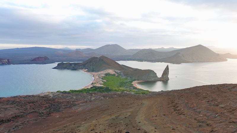 Galapagos Islands view from Bartolome