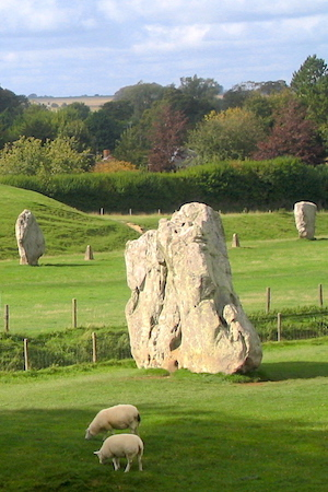 Avebury Stone Circle in England