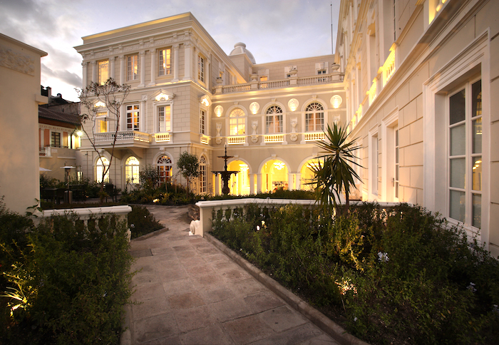 Casa Gangotena luxury hotel in Quito review