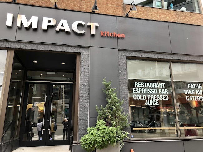 Where to eat in East Toronto Impact Kitchen