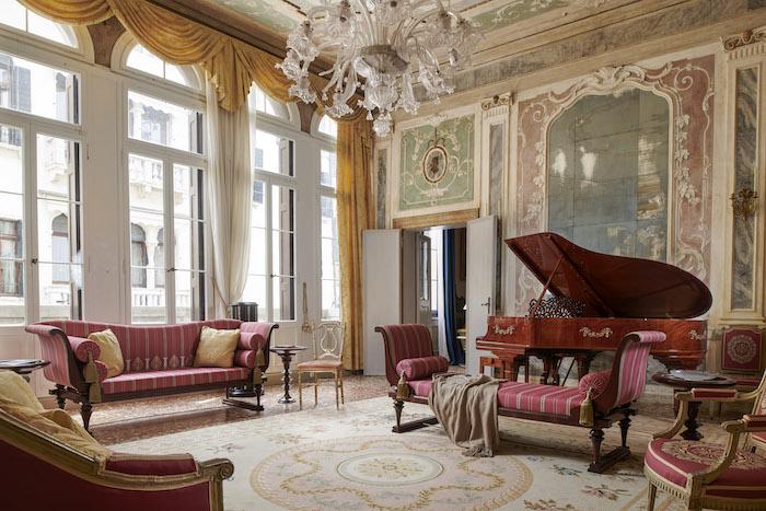 Palazzo Grimani 5 star accommodation in Venice Photo credit: Colin Dutton