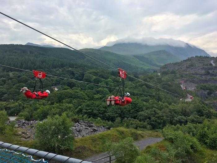 Outdoor activities in Wales, Zip World