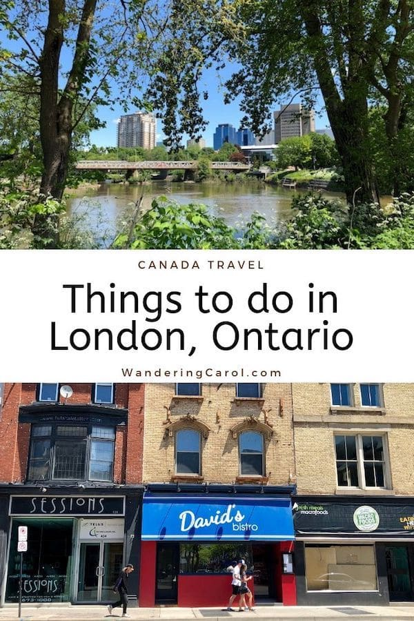 Here are the best things to do London, Ontario, Canada\'s 11th largest city, from Covent Garden Market to the city\'s top art galleries, museums, cycling trails, parks and attractions. #London #Ontario #Canada #travel