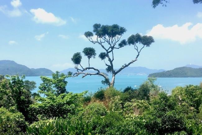 View of Phuket Thailand