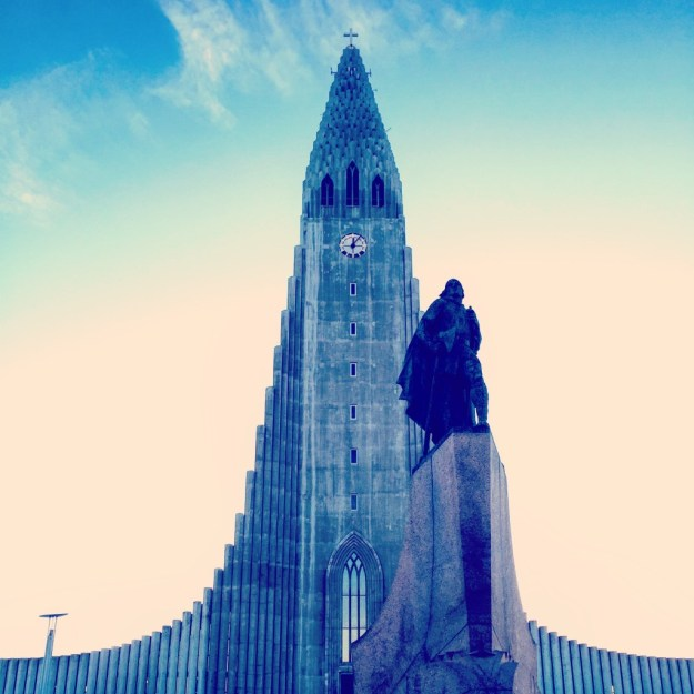 Hallgrimskirkja 24 hours in Reykjavik