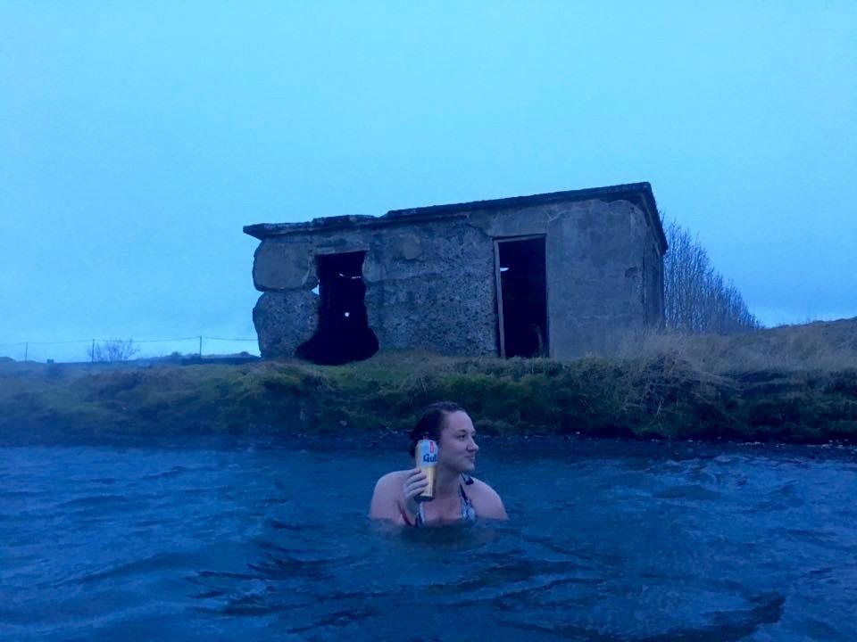 Secret Lagoon Iceland a natural spa alternative to Blue Lagoon