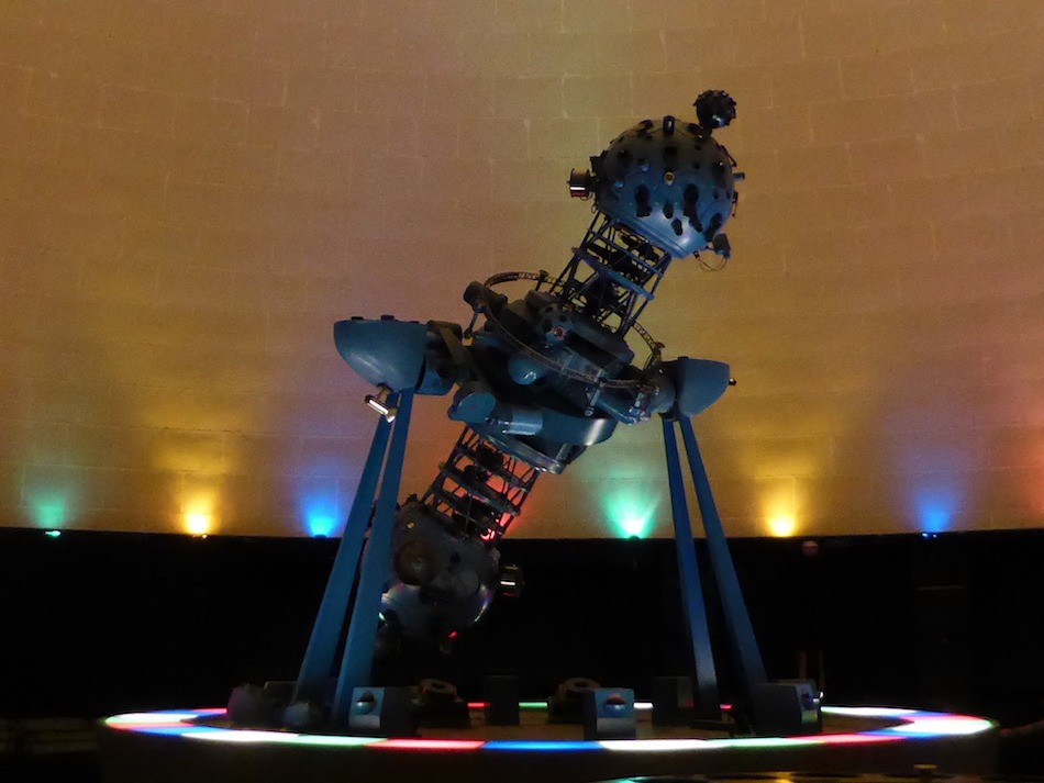 Planetarium in Budapest, geeky things to do in Budapest