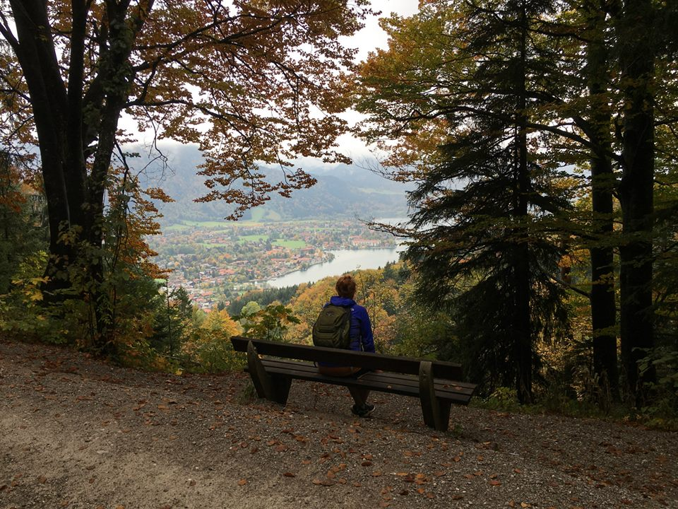 Hiking in Tegernsee Wandering Chocobo