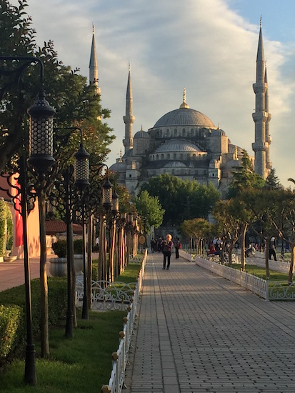 Blue Mosque Istanbul Turkey Wandering Chocobo