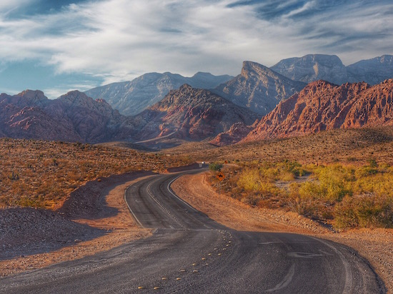 Red Rock Canyon Las Vegas, Nevada Wandering Chocobo