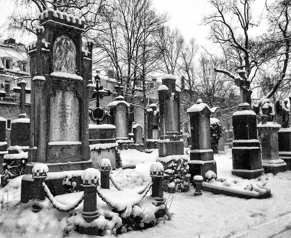 Munich old Graveyard Bavaria Germany Wandering Chocobo