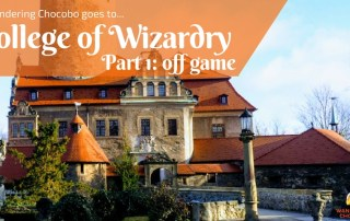 College of Wizardry LARP Experience