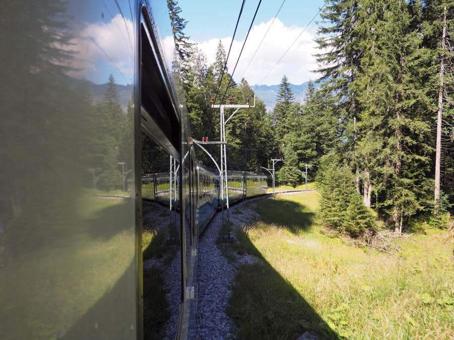 Munich to Zugspitze Summer zugspitzbahn