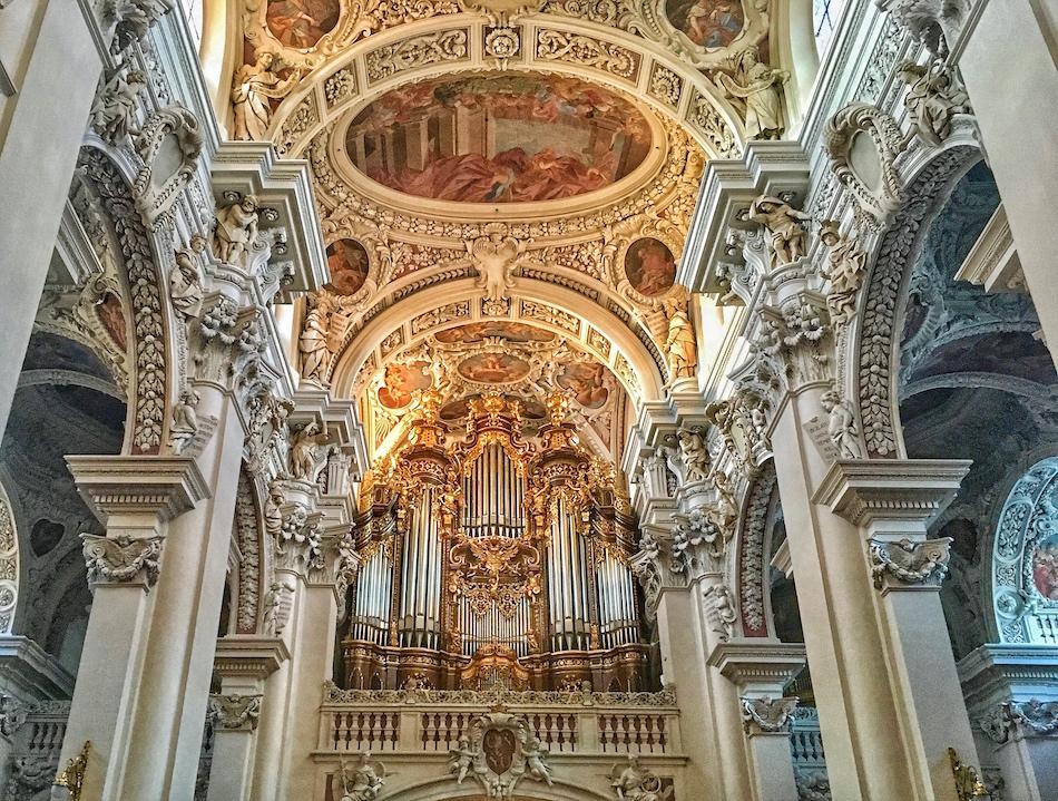 St. Stephens Cathedra Passau Bavaria Germany Madelines Traveling