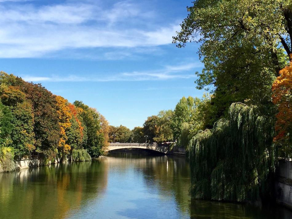 Isar River Munich Bavaria Germany Wandering Chocobo