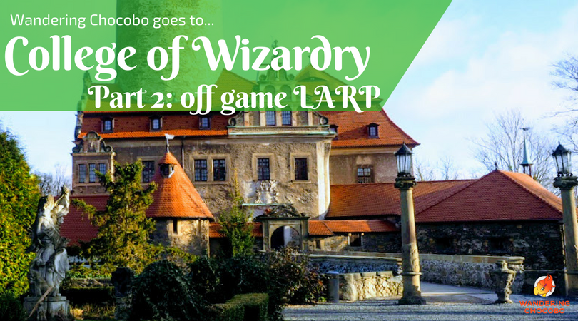 College of Wizardry LARP experience Wandering Chocobo