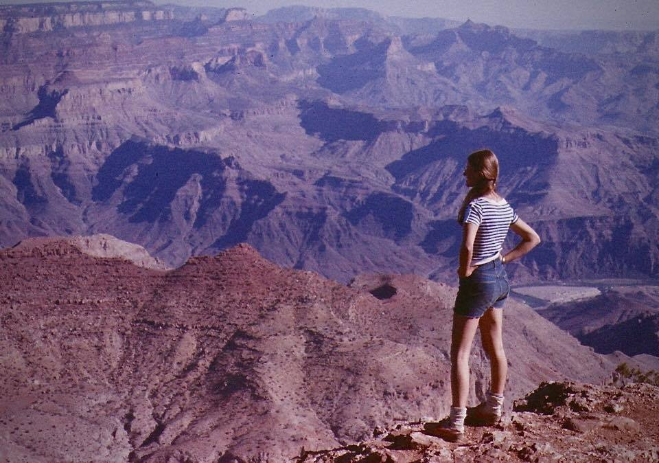 Grand Canyon in the 70s Wandering Chocobo