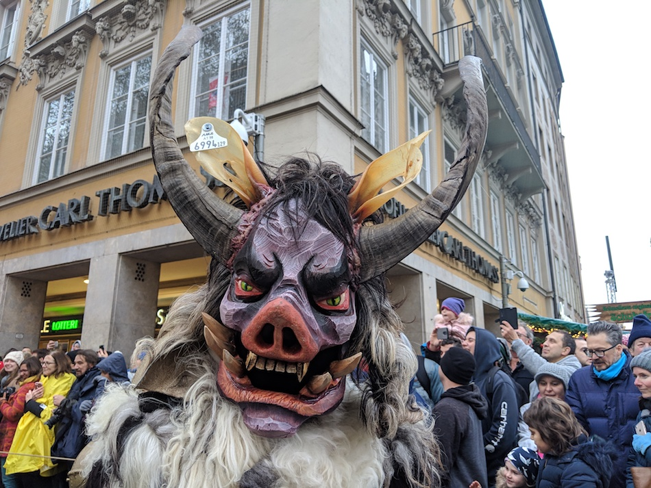 Krampus Run Munich Germany
