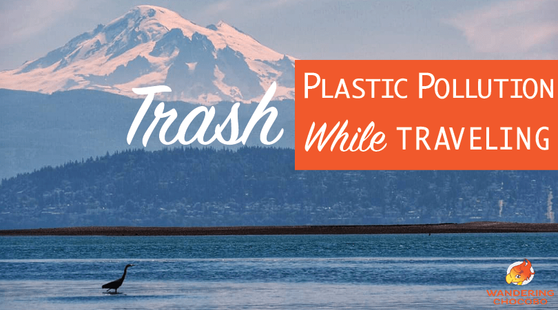 reduce plastic pollution while traveling