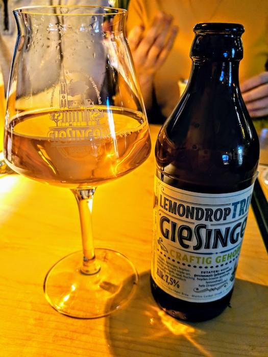 Giesinger beer Munich microbrewery hipster